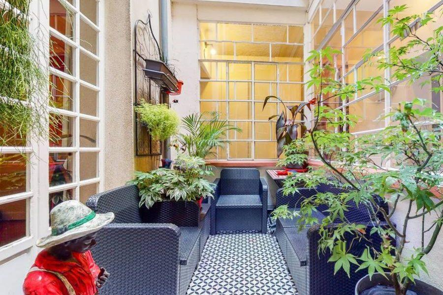 NANTES CENTRE VILLE T4 avec patio